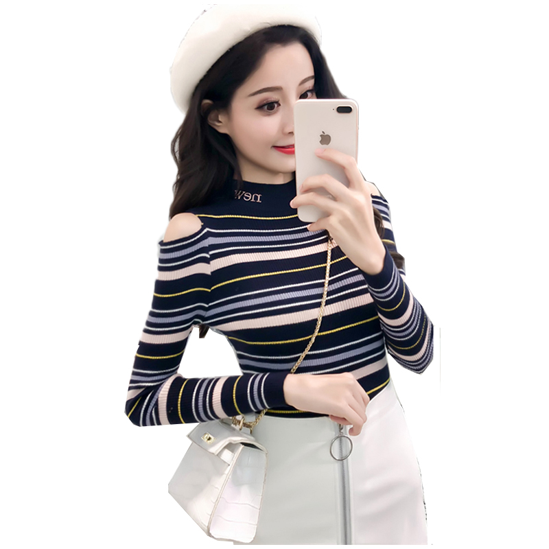 Women Sweater Spring Turtleneck Sweater Korean Knitting Tops Pullover Long Sleeve Jumper Pull Harajuku Femme Sweater Clothing