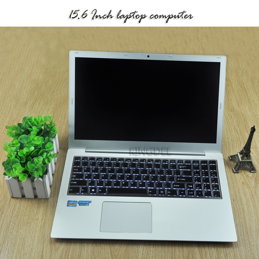 Newest Dedicated Card 15.6 Inch i5 Laptop Computer Backlit Keybod Core i5 6200U Ultraslim Netbook with 8GB RAM 1000GB SSD