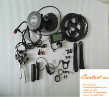 250w ebike conversion kit 8fun bafang BBS01 36v 250w mid motor kit for 36v 250w electric bicycle tricycle change