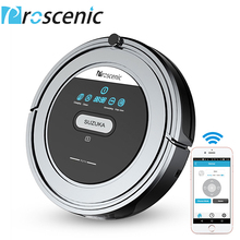 Proscenic Suzuka Vacuum Cleaner Robot with Wifi Connectivity Drop Detection Sensors for Hard Floor Carpets Auto Robot Sweeper(China)