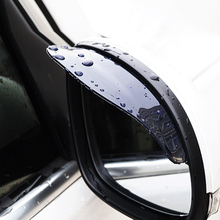 1Pair Rain Shield Car Rear Mirror Guard Rearview Mirror Rain Shade For Ford Focus 2 / 3 /Kuga/Ecosport/Edge/Mondeo/Fiesta KA