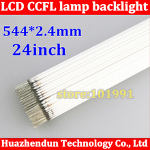 "50PCS/LOT Wholesale CCFL 544mm * 2.4mm 24"" wide screen CCFL tube Cold cathode lamps LCD monitor backlight tube"
