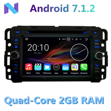 For Chevrolet Chevy Suburban Silverado Cobalt Buick Enclave Car DVD Player 4G WIFI Android 7.1.2 2G RAM Radio Stereo GPS Navi(China)