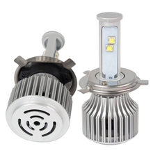 iTimo 6000K High Low Beam Headlamp H4 Super Bright All-in-one Headlight Car Styling Version of X7 LED 60W/Each Bulb
