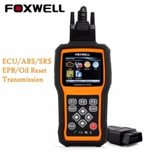 Universal OBD2 OBD Automotive Scanner Engine ABS SRS Airbag Transmission Reset Foxwell NT414 Diagnostic Scan Tool with Spanish