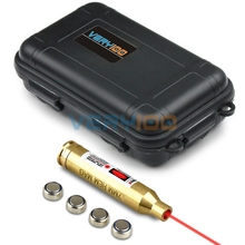 7mm REM MAG Brass Laser Cartridge Bore Sight Boresighter +VERY100 Waterproof Box(China)