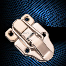 free shipping metal hasp bag hardware part air box buckle wooden box lock instrument fastener Aluminum tool cases fitting(China)