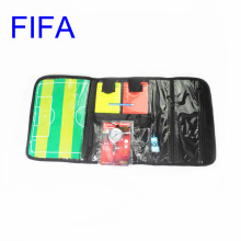 Gojoy Soccer referee wallet with card coin whistle barometer Professional Football bag set for referee Wholesale