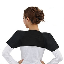 Hot Selling 2016 Tourmaline Heat Health Shoulder Posture Brace Support Pain Relief Back Best Selling