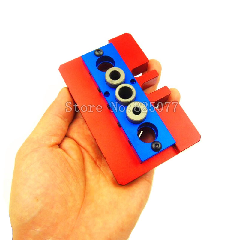 Woodworking locator tenon hole punchers positioning drilling hole punch dowelling Jig woodworking tool KF985<br>