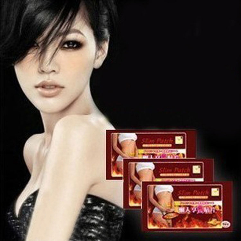 The Third Generation Hot- New 80 pcs ( 1 bag = 10 pcs ) Slimming Navel Stick Slim Patch Weight Loss Burning Fat Patch(China (Mainland))
