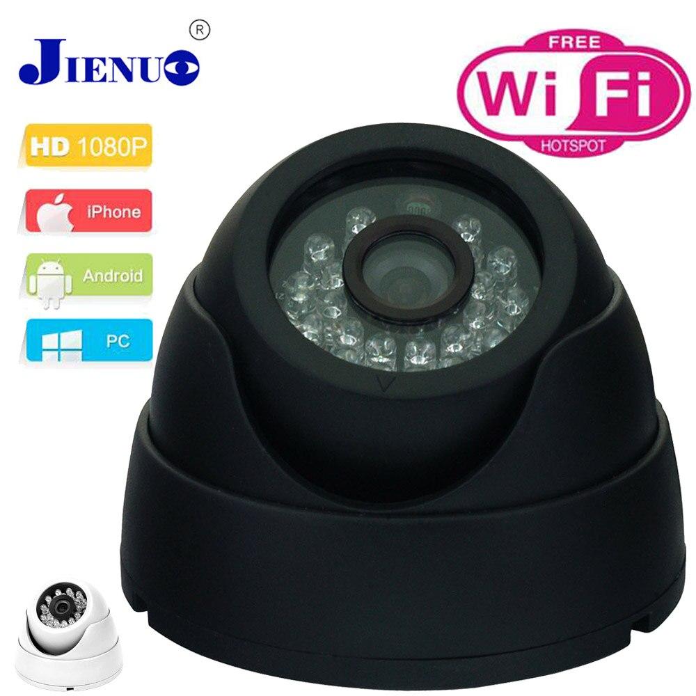 CCTV Ip Camera 1080p Wireless Video Surveillance Cameras Mini Camera Wifi 2.0 MP HD Dome Camera P2P Network Onvif Cam JIENU<br>