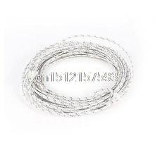 10M Length Plastic White Blue Thermocouple Lead Extension Wire