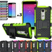 Hybrid Rugged Impact Kickstand Case Skin With/Without FILMS For LG Leon 4G/LTE C50/C40/Power L22C/Destiny L21G/Tribute 2 LS665