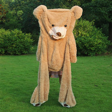 130cm 200cm 260cm 340cm Giant Bear Skin Teddy Bear Hull Super Quality Wholesale Price Selling Toys Girls With a Free Gift HT496