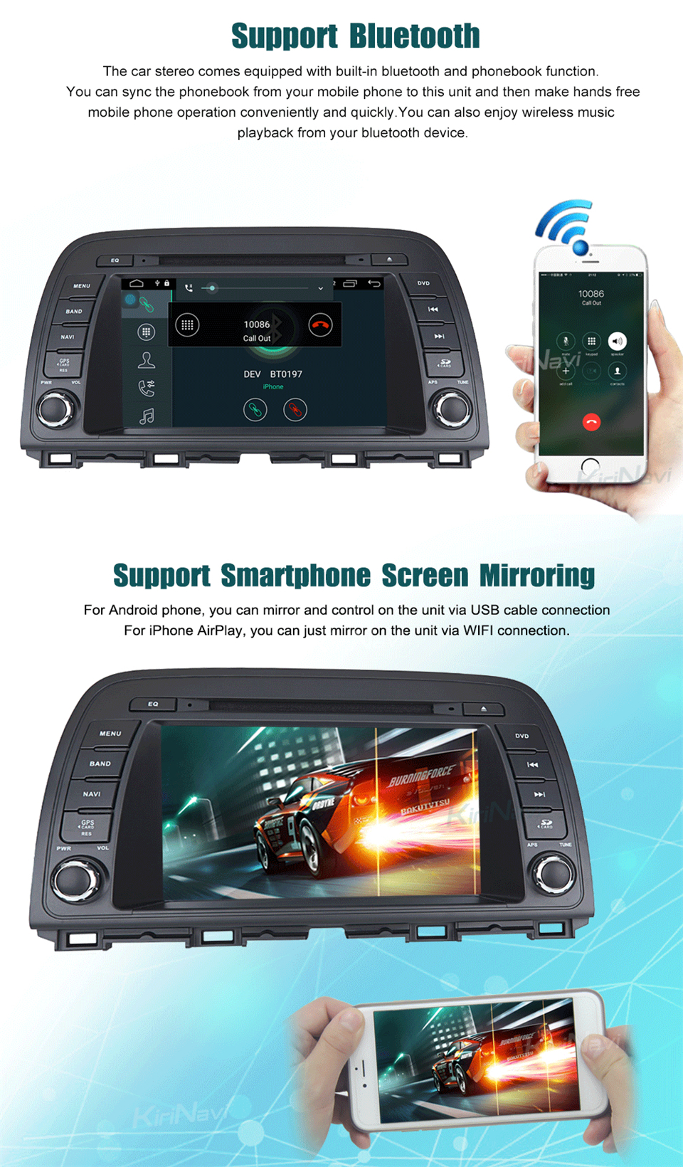 car multimedia system for Mazda Atenza (5)