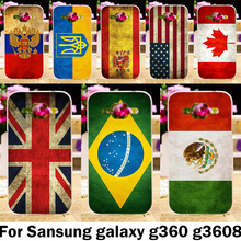 National Mexico France Flag Phone Cases For Samsung Galaxy Core Prime G360 G3606 G3608 G3609 G361F G360H G360F G361H Case Covers
