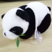 2017 New Soft Christmas Gift Baby Kid Cute Soft Stuffed Panda Soft Animal Doll Toy Eating Bamboo Leaf Cute Pandas Toys Drop Ship(China)