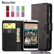 Beworlder Wallet PU Leather Case For HTC Desire 820 826 816 728 HTC 626 620 616 610 516 510 500 Flip Leather Card Holder Cover