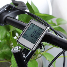 Top Wireless Bicycle Computer Bike Odometer Speedometer LCD Display 2 in 1 Cycling Computer With Cadence Heart Rate Monitor