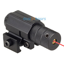 Tactical Red Laser Dot Sight Scope riflescope with Mount For Gun Rifle Pistol Air soft Hunting New(China)