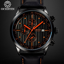 OCHSTIN Top Brand Luxury Chronograph Sport Clock Men's Watch Men Dress Casual Sport Quartz Wrist Watches Military Clocks 042(China)