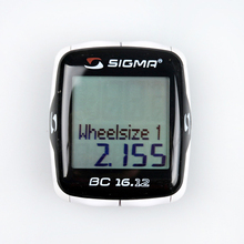 SIGMA bc 16.12 Bike Equipment Sport Wired Odometer Bike Cycle Cadence Computer Bicycle Cycling Speedometer  Odometer