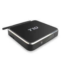 T10 Android 5.1 Set Top TV Box XBMC Kodi 16 4K Google Media Player Amlogic S805 Quad Core 1G+8G WiFi HDMI LIVE Free TV Channels(China)
