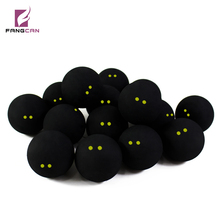 FANGCAN FCA-06 two yellow dot squash ball competition squash ball small elasticity professional squash ball