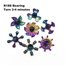 Buy 16 Styles Fidget Spinner EDC Metal Hand Spinner Dazzling Colorful Cool Stress Wheel Cube Toys Figit Spiner Gifts Free for $1.00 in AliExpress store