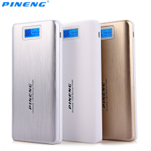Original Pineng PN-999 20000mAh Capacity Power Bank Ultrathin Portable External Battery Bateria Externa Backup Charger Powerbank