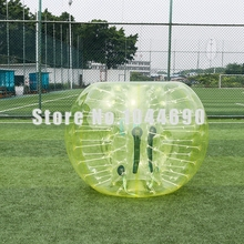 Wholesale price soccer bubble aurora,Dia 1.5m bubble ball soccer for party