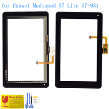 ALANGDUO for Huawei Mediapad S7 Lite S7-931U S7-931W 7 inch Tablet Touch Screen Digitizer Glass Panel Replacement Touchscreen
