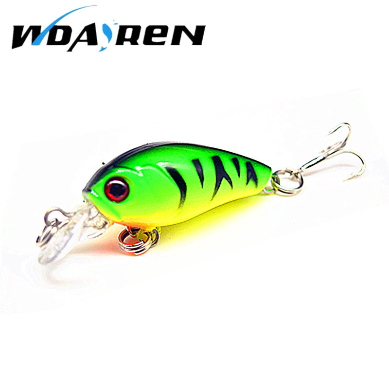 Hot Sale 4.5cm 4g Swing Popper Fishing Lure Top water Crank bait hard Fish Bait For Saltwater Freshwater 6 Colors Optional FA312(China)