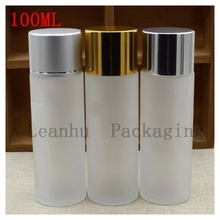 100 ml Pure Dew Bright Skin Water Bottling Skincare Cosmetics Bottles Frosted Glass Bottle 100 cc Shampoo, Shower Gel Container