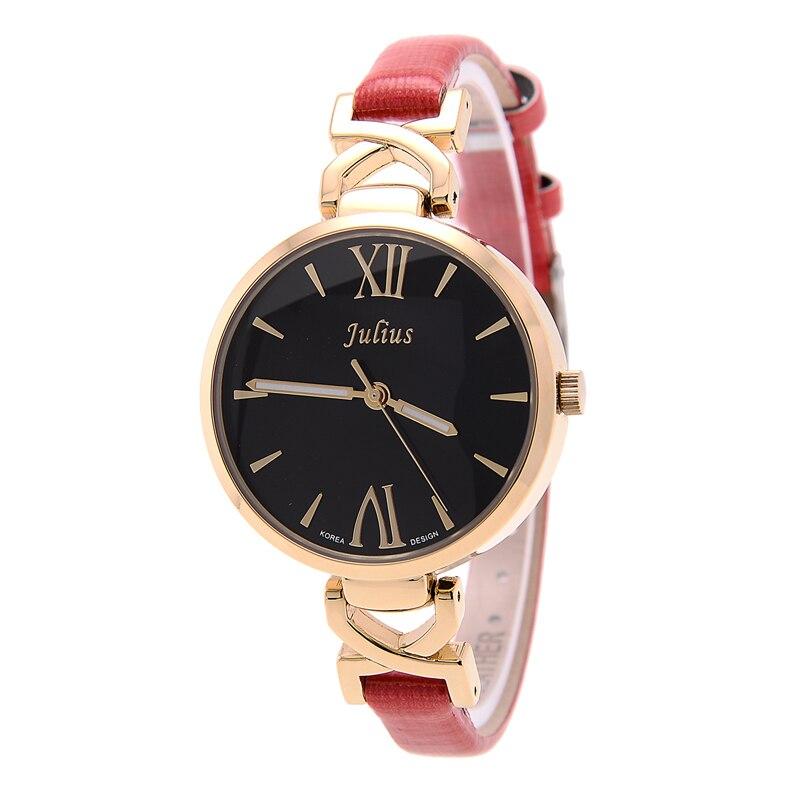 Lady Woman Wrist Watch Quartz Hours Best Fashion Dress Korea Bracelet Brand Candy Leather Elegant Girl Gift JA747<br><br>Aliexpress