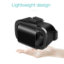 "Latest VR Box 3D Glasses Virtual Reality Goggles Headset Googles Cardboard VR Glasses For 4.7-6.0"" Smartphone Live Video"