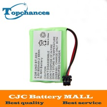 New High quality  Ni-MH 800mAh 3.6V  Rechargeable Cordless Home Phone Battery for Uniden BT-909 BT909 Free Shipping
