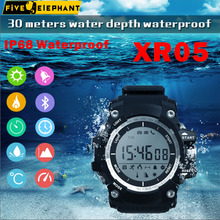 IP68 Waterproof XR05 Smart watch Sport Health WristWatch Power Battery Android OS for iphone samsung xiaomi huawei(China)