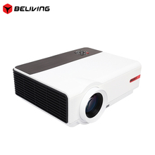 Smart RD808A HD Projector 3200Lumen Wireless Display Newest Android LED Digital 3D Theater Projectors USB HDMI AV TV