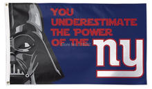 NY Giants Star Wars Flag 3x5 FT 150X90CM NFL Banner 100D Polyester Custom flag grommets 6038,free shipping(China)