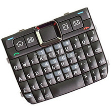 Grey New Housing Home Function Main Keypads Keyboards Buttons Cover For Nokia E71, Free Shipping with tracking#(China)