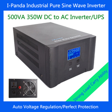 I-P-XD-500VA Industrial Level low frequency Pure Sine Wave Solar Inverter 350w with charger UPS