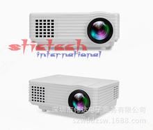by dhl or ems 5 sets RD-805 Wifi Wireless android 4.4 system HD Home Theater MINI led Projector For Video Games TV Movie