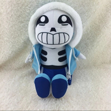 Hot Sale New Color Blue 30cm Undertale Plush Sans Papyrus Toys Animation Plush Dolls For Kids Christmas Gift Japan Plush