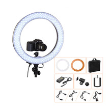 "Camera Photo Video 18"" RL-18 240 LED Ring Light 5500K Outer 55W Dimmable Photography Ring Video Light lamp for Camera Fill Light"