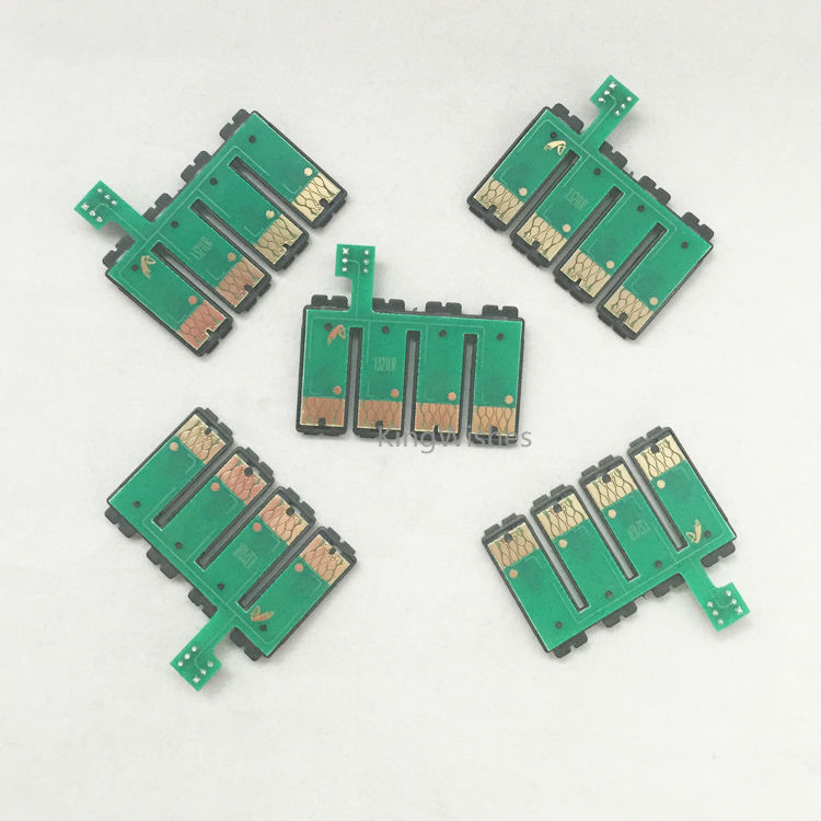 Good Price 1PCS T1271 T1272 T1273 T1274 Permanent CISS Combo Chip For Epson Stylus NX625 NX530 Printer<br><br>Aliexpress