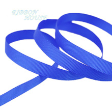 "(10 meters/lot) 3/8"" 10mm Royal Blue Grosgrain Ribbon Wholesale gift wrap decoration ribbons(China)"