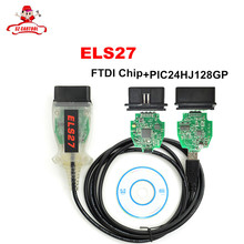 ELS27 FORScan Scanner For Ford/Mazda/Lincoln/Mercury Vehicles ELS27 FORScan Scanner OBD2 Diagnostic Cable Support ELM327 J2534