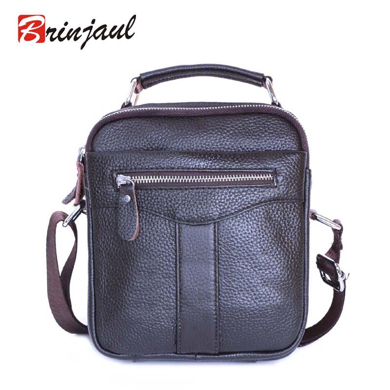 Brand 100% Genuine Leather Men Messenger Bag Casual Crossbody Bag Business Mens Handbag Bags for gift Shoulder Bags Men DZ001<br><br>Aliexpress